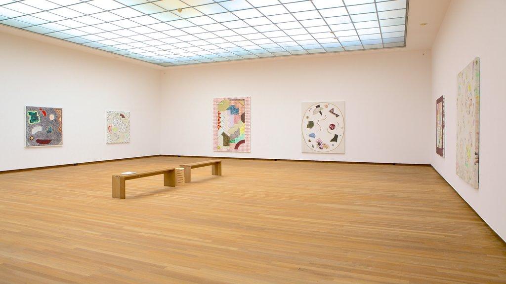 Bonnefanten Museum featuring art and interior views