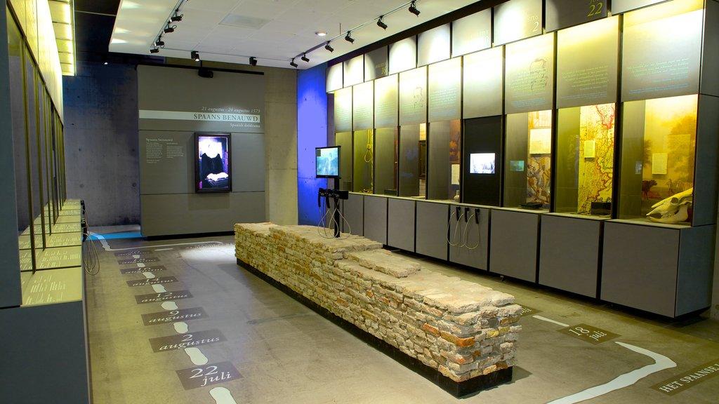 Stedelijk Museum showing interior views