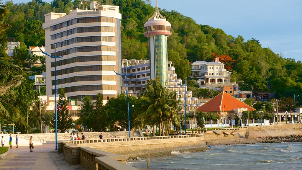 Vung Tau which includes a city and general coastal views