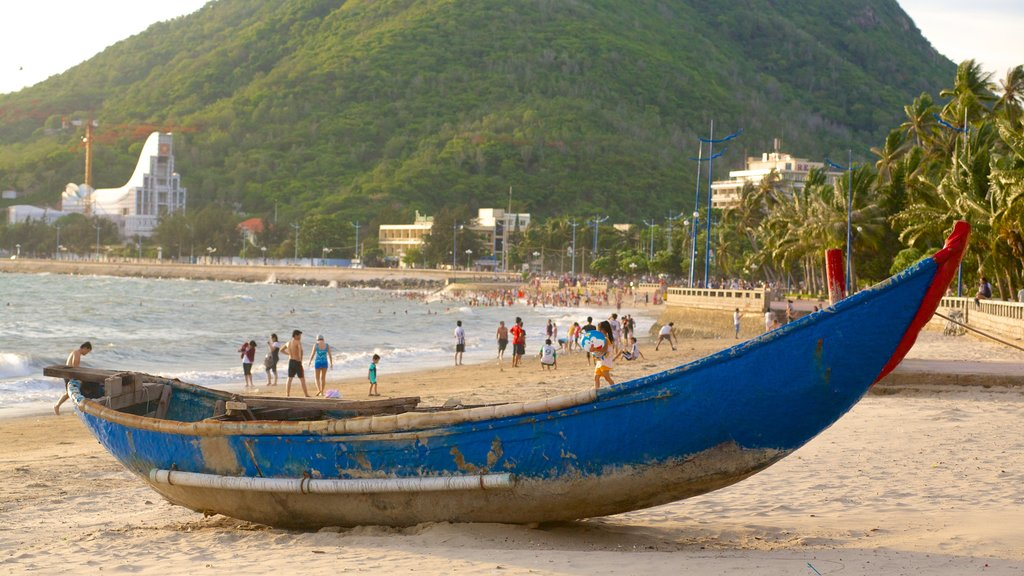 Vung Tau which includes boating and a sandy beach