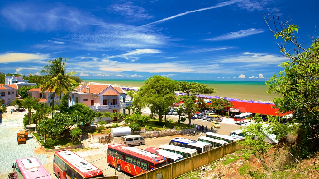Long Hai Beach which includes tropical scenes and landscape views
