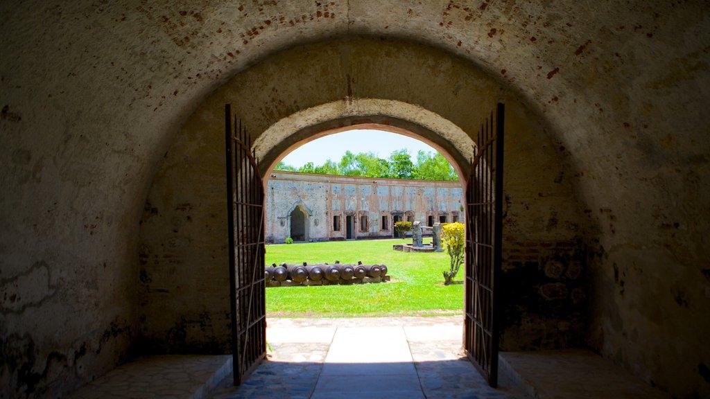 San Fernando Fortress showing heritage elements