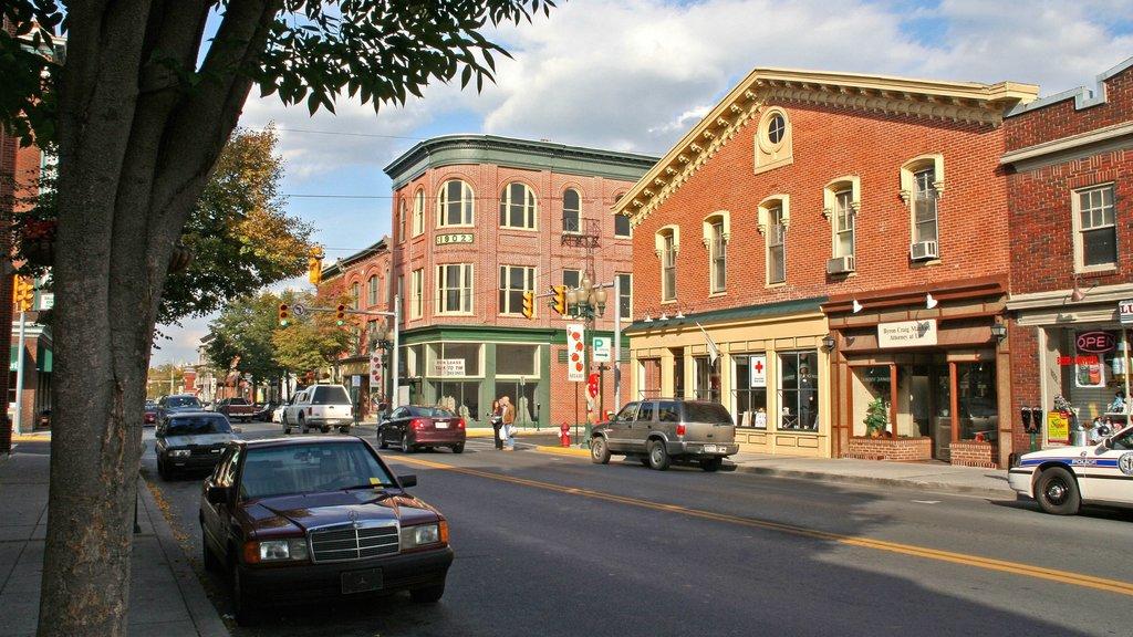 Martinsburg featuring street scenes