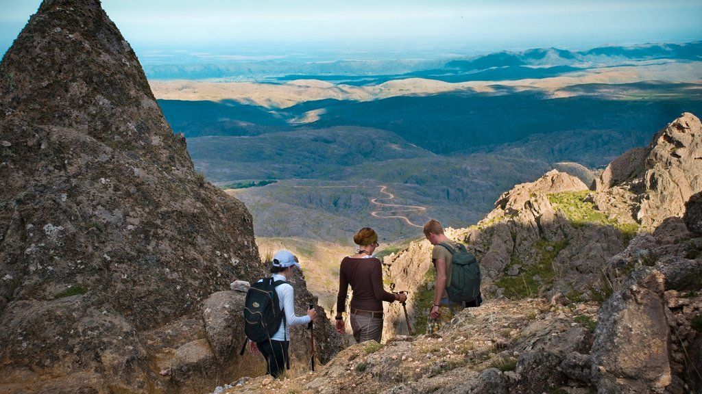 Cordoba which includes mountains and hiking or walking as well as a small group of people