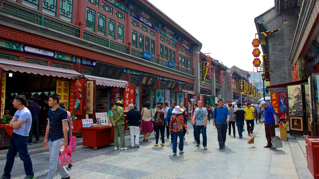 Ancient Culture Street which includes street scenes as well as a large group of people