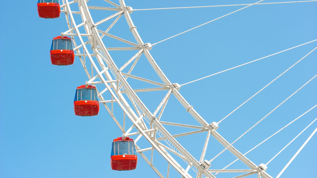 Tianjin Eye which includes rides