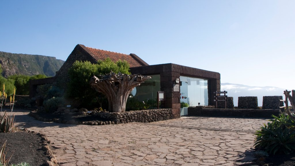 El Hierro featuring heritage elements and a house