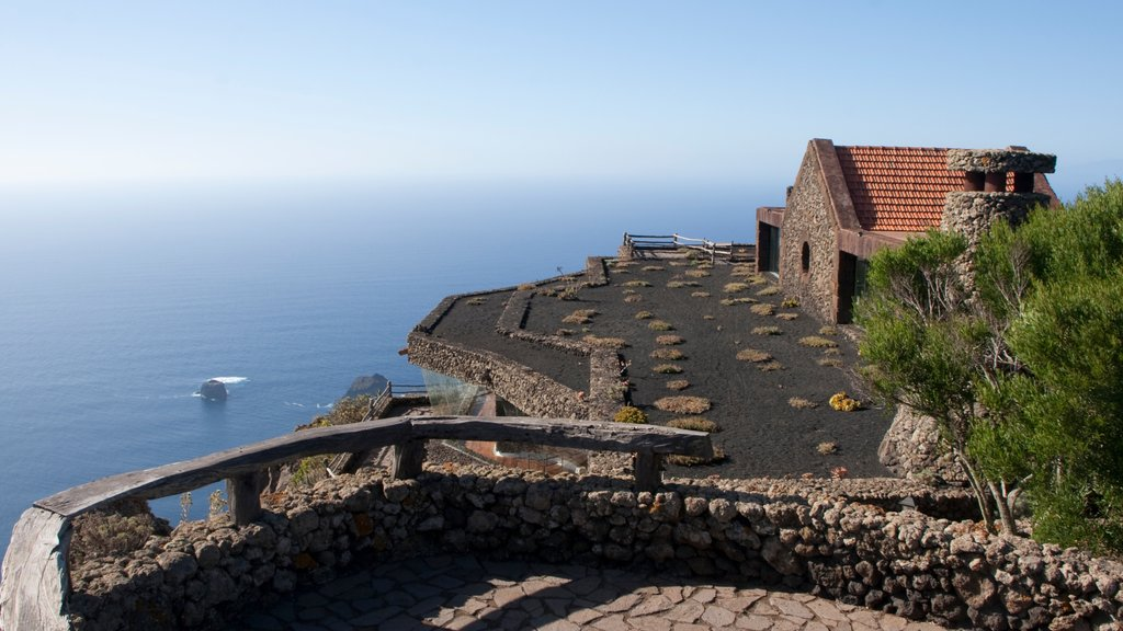 El Hierro featuring general coastal views and heritage elements