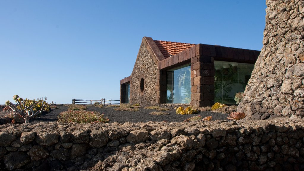 El Hierro which includes heritage elements and a house