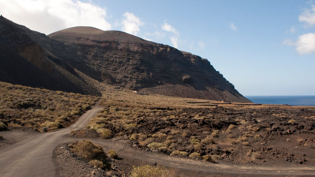 El Hierro showing mountains and tranquil scenes