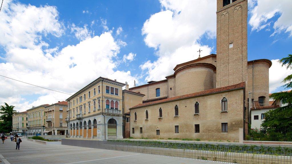 Mestre showing street scenes