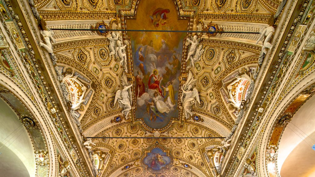 San Vittore Basilica which includes religious aspects, art and a church or cathedral