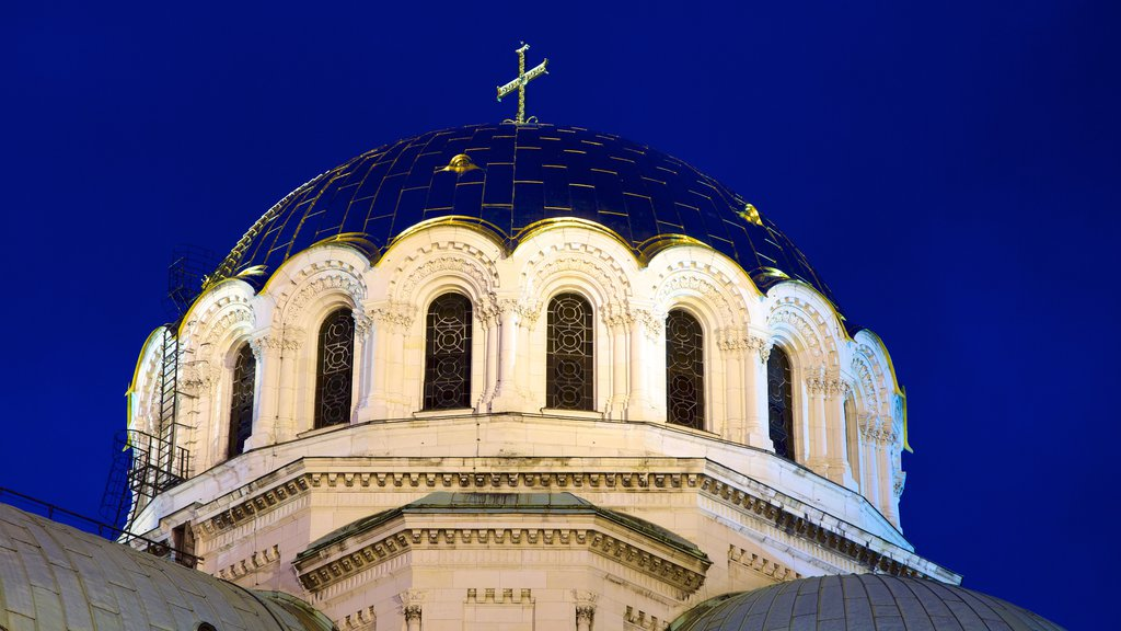 Alexander Nevski Cathedral showing heritage architecture and a church or cathedral