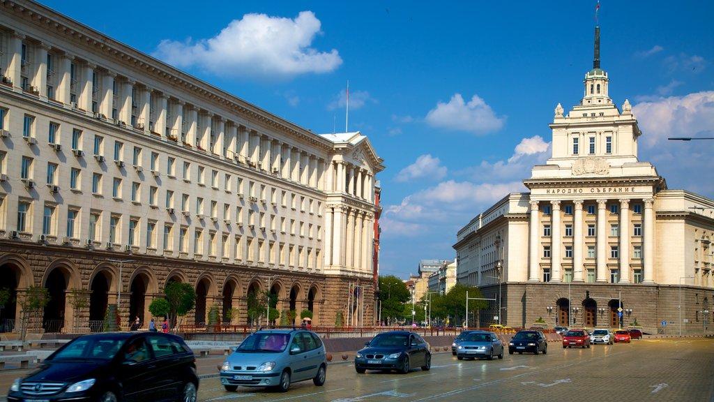 Sofia featuring street scenes