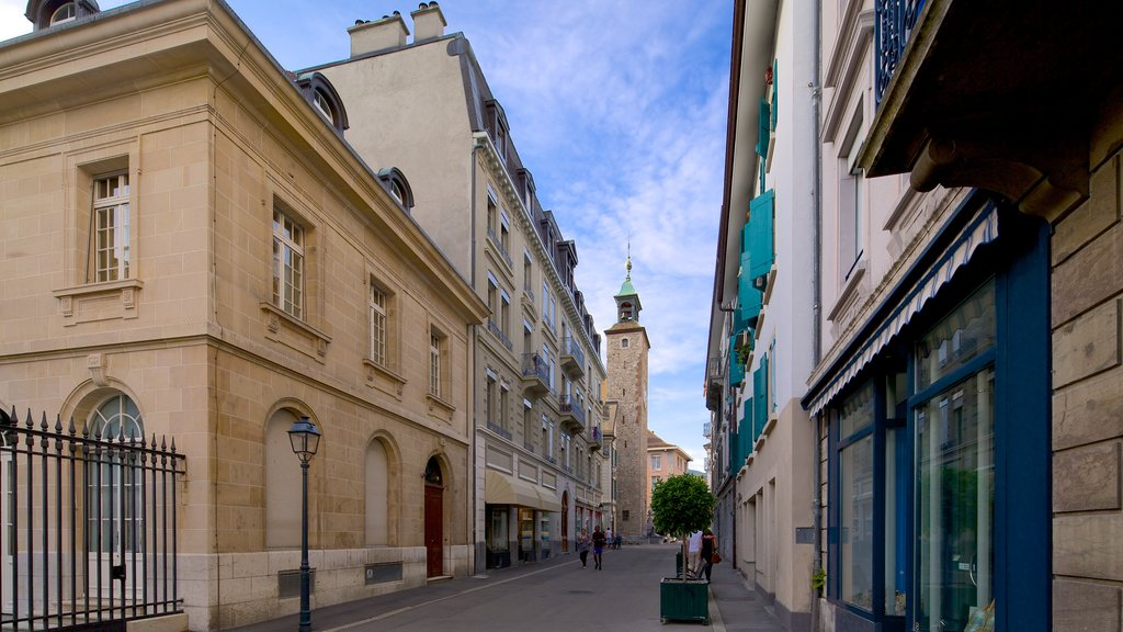 Vevey mostrando escenas urbanas