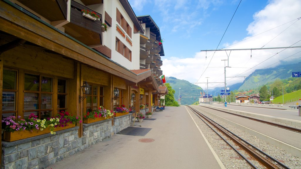 Grindelwald showing street scenes