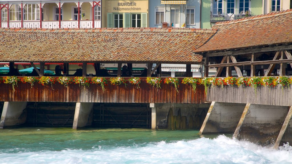 Thun featuring a river or creek and a house