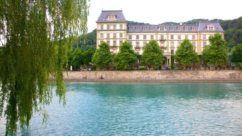Thun featuring a lake or waterhole