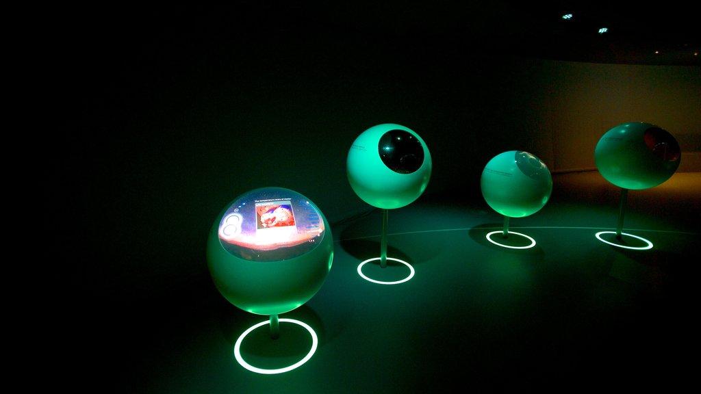 CERN showing interior views