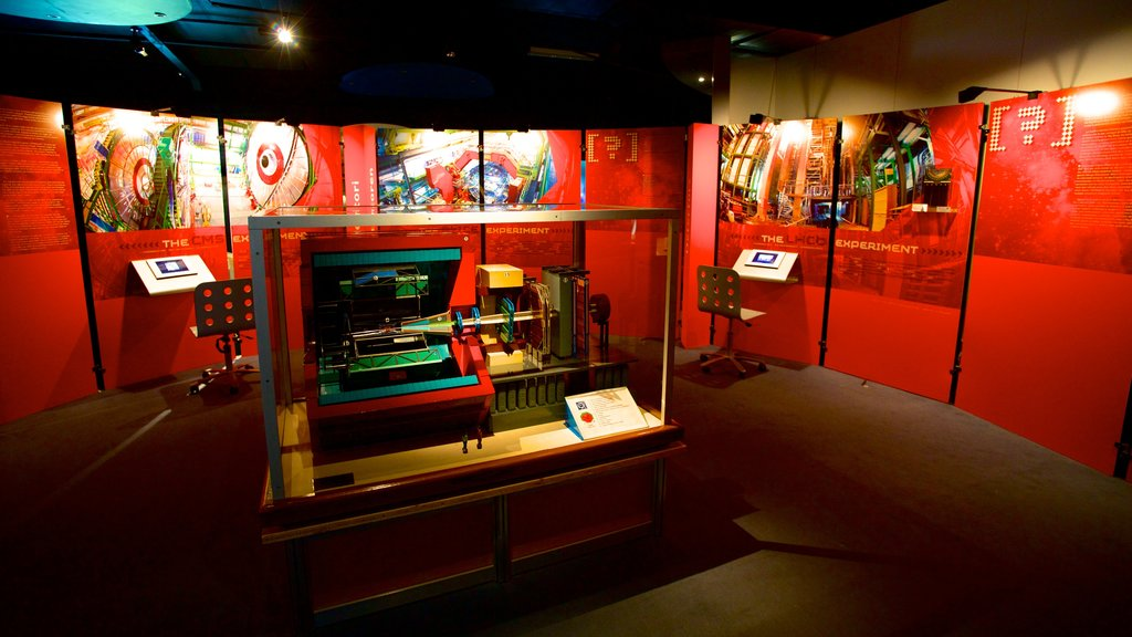 CERN which includes interior views