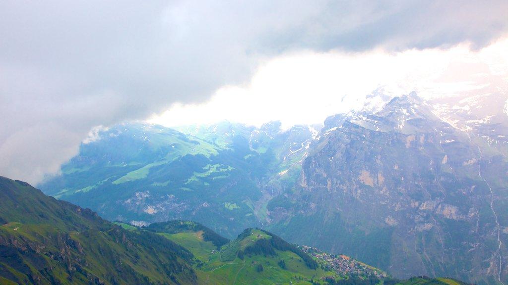 Schilthorn que incluye montañas