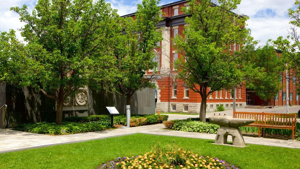 Kitchener which includes a garden
