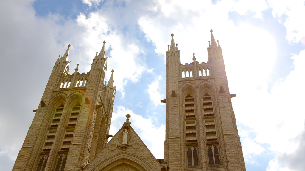 Guelph featuring a church or cathedral and heritage architecture