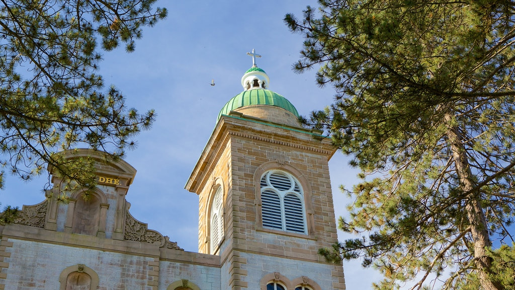 Antigonish showing religious aspects and a church or cathedral