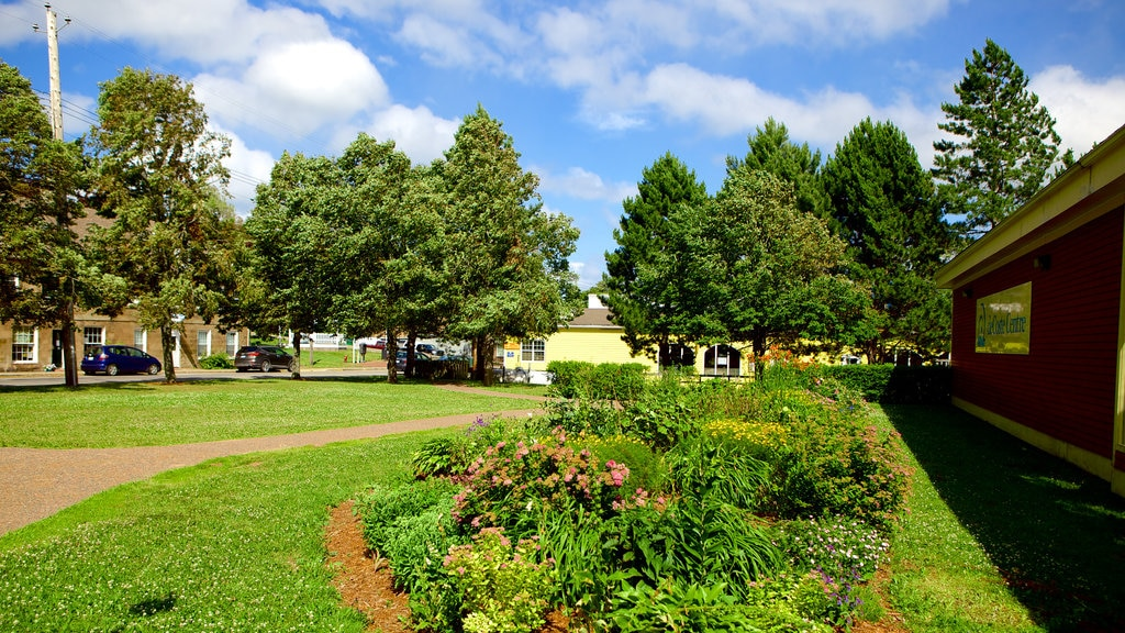 Pictou featuring landscape views and a garden