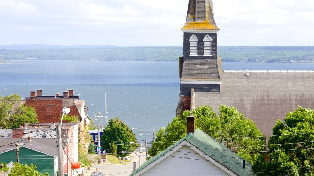 Pictou featuring general coastal views and landscape views