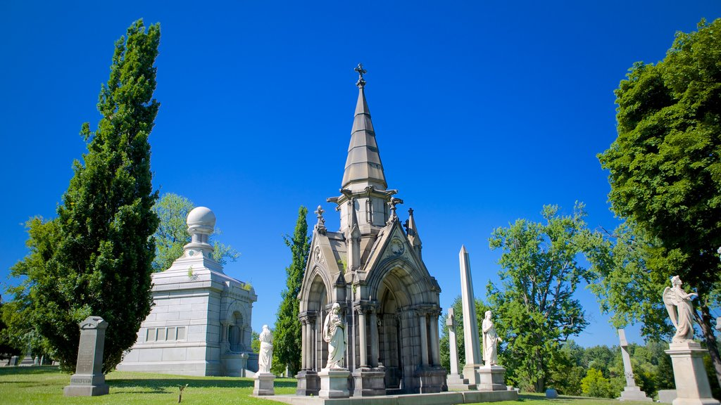 Forest Lawn Cemetery which includes a cemetery