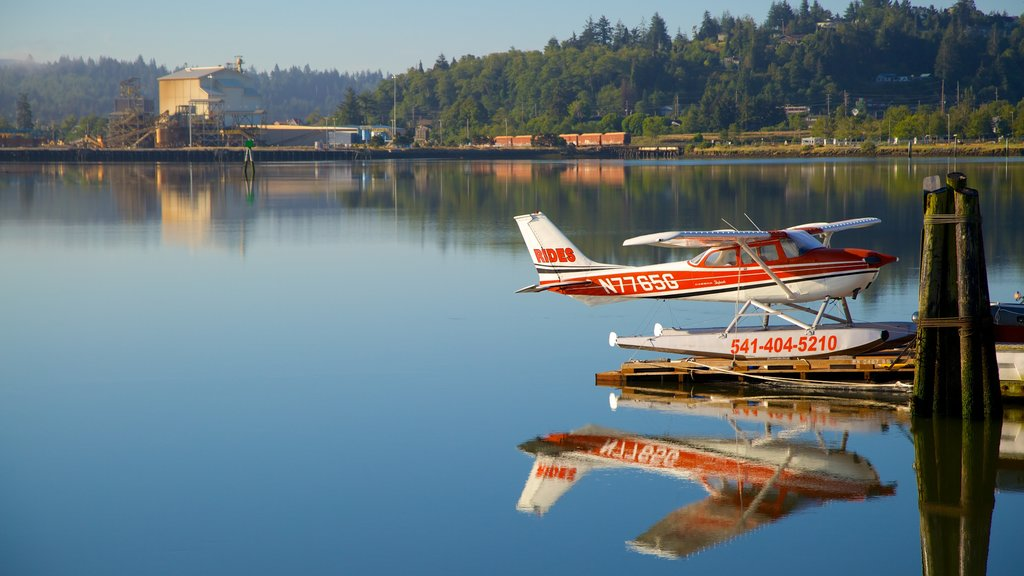 Coos Bay which includes an aircraft and aircraft