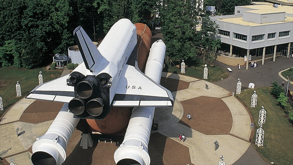 Huntsville ofreciendo aeronave