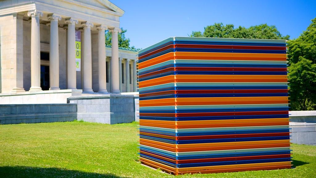 Albright - Knox Art Gallery featuring art, outdoor art and a garden