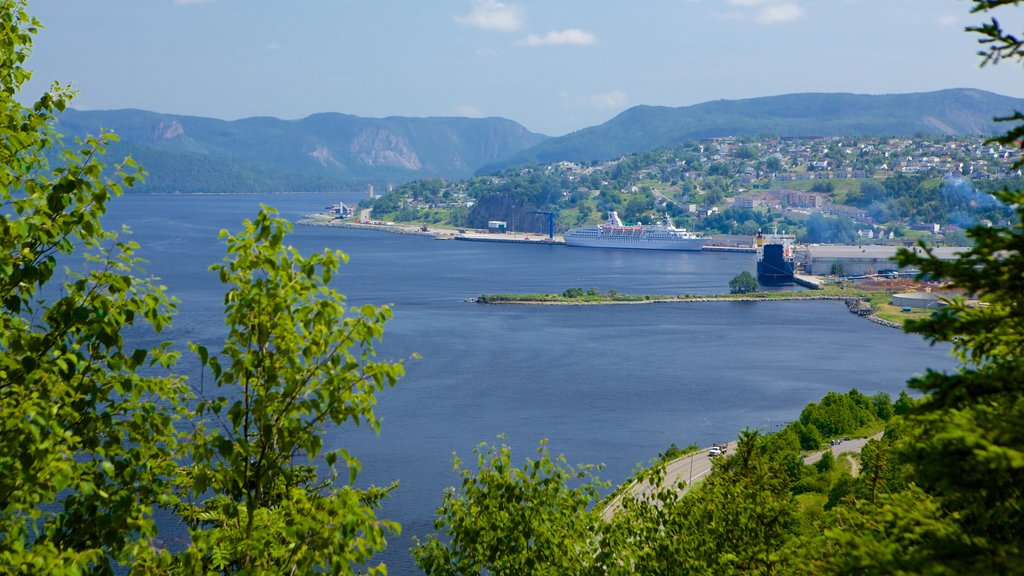 Corner Brook featuring a bay or harbor