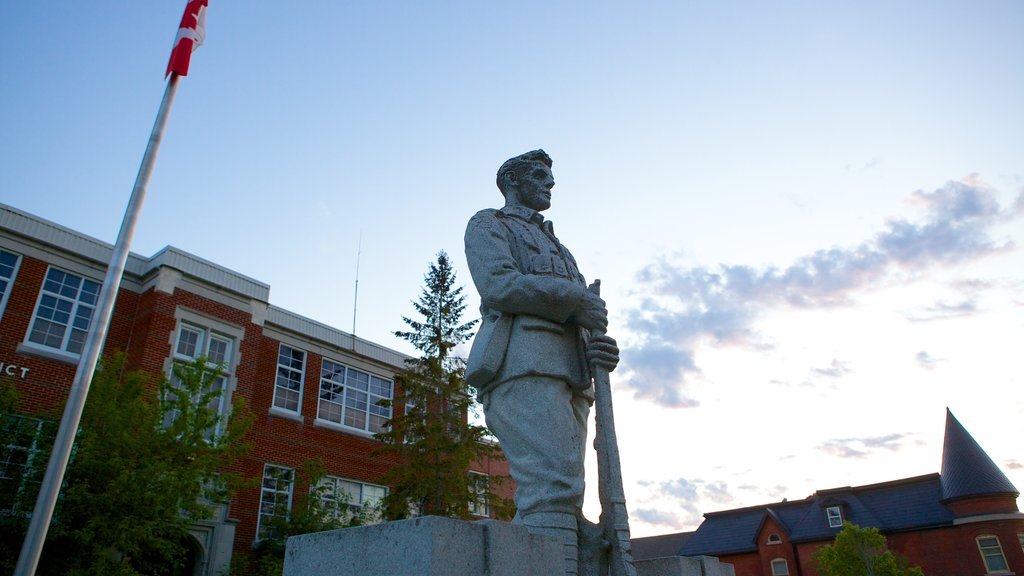 Kemptville featuring a statue or sculpture