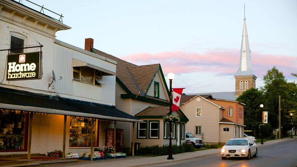 Kemptville showing street scenes and a house