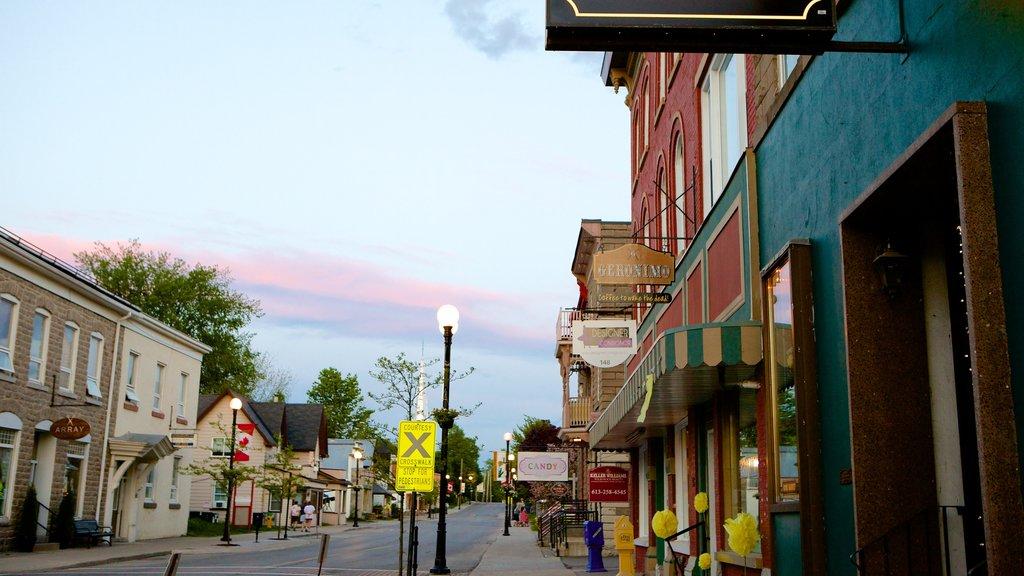 Kemptville showing street scenes