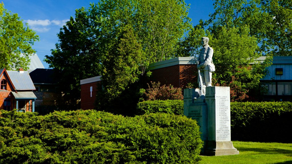 Kemptville which includes a statue or sculpture and a garden