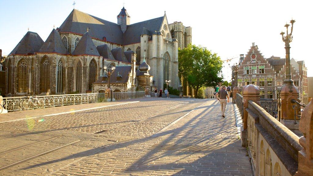 Ghent featuring heritage architecture
