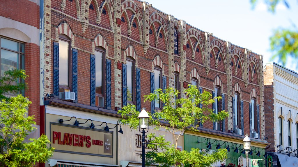 Barrie - Orillia which includes a small town or village and heritage architecture