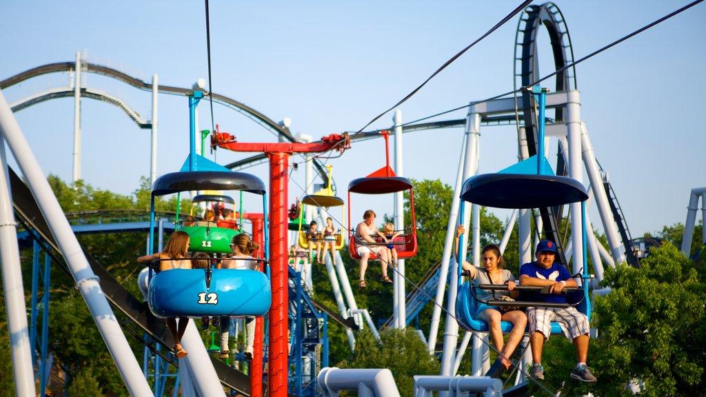 Hersheypark featuring a gondola