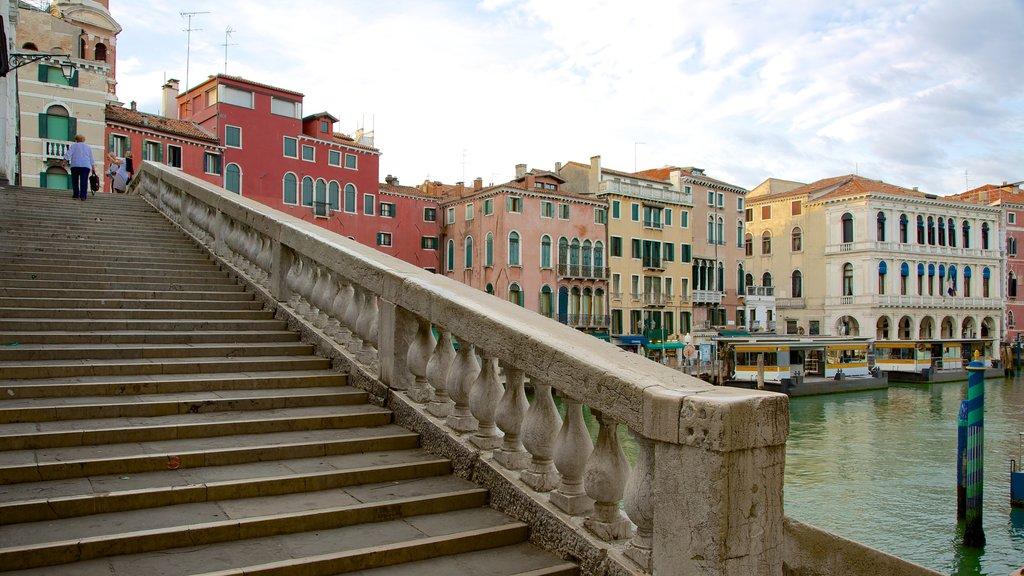 Venice featuring a bridge