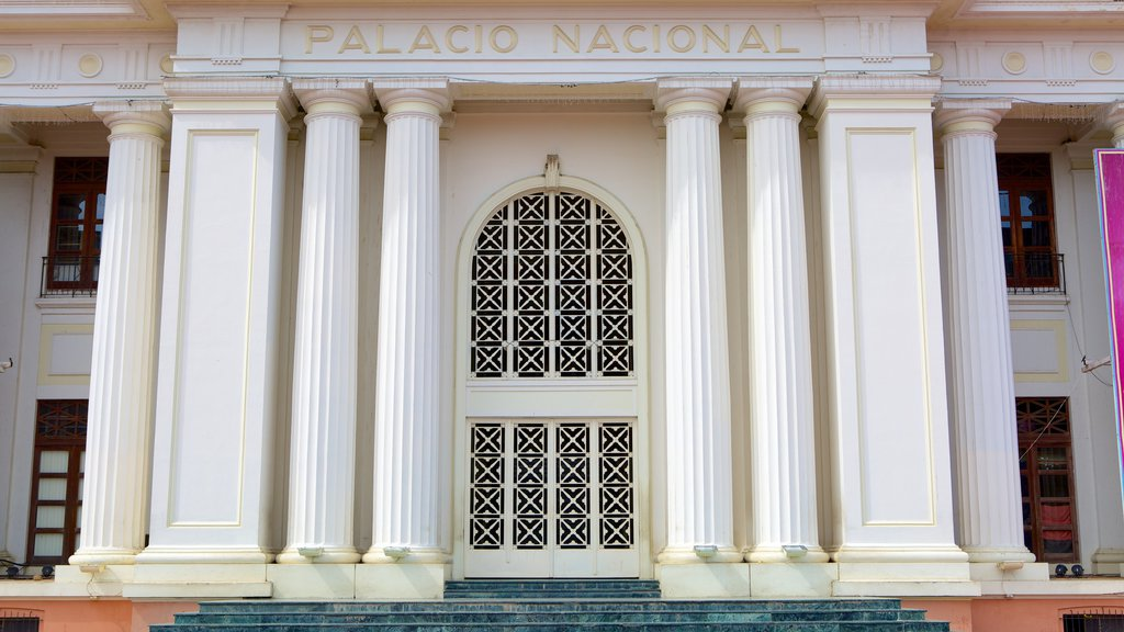 National Palace featuring heritage architecture