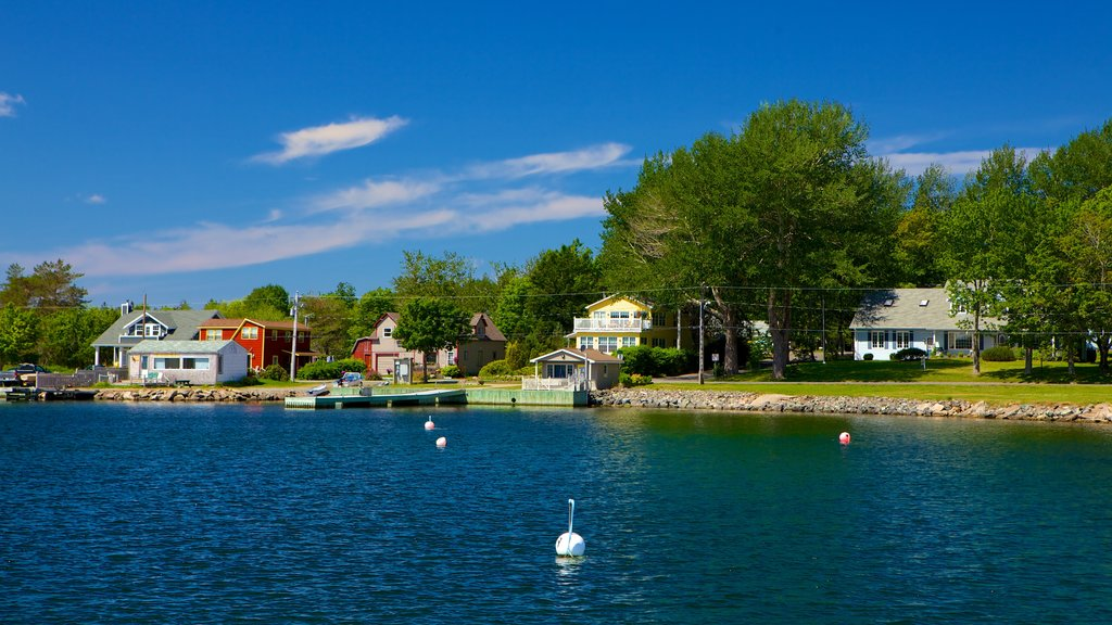 Baddeck showing a lake or waterhole
