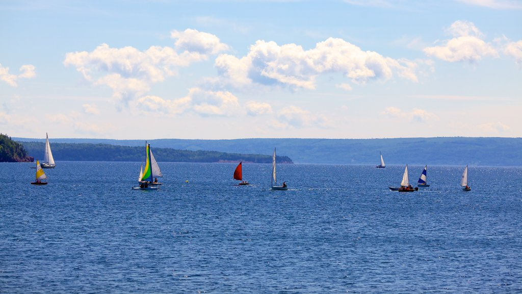 Baddeck which includes sailing
