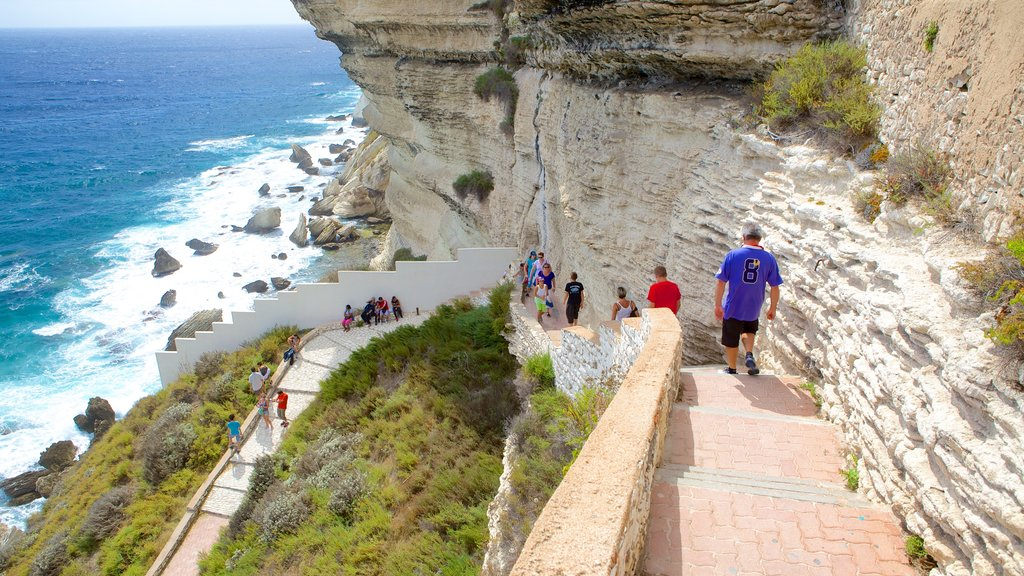 Bonifacio featuring hiking or walking