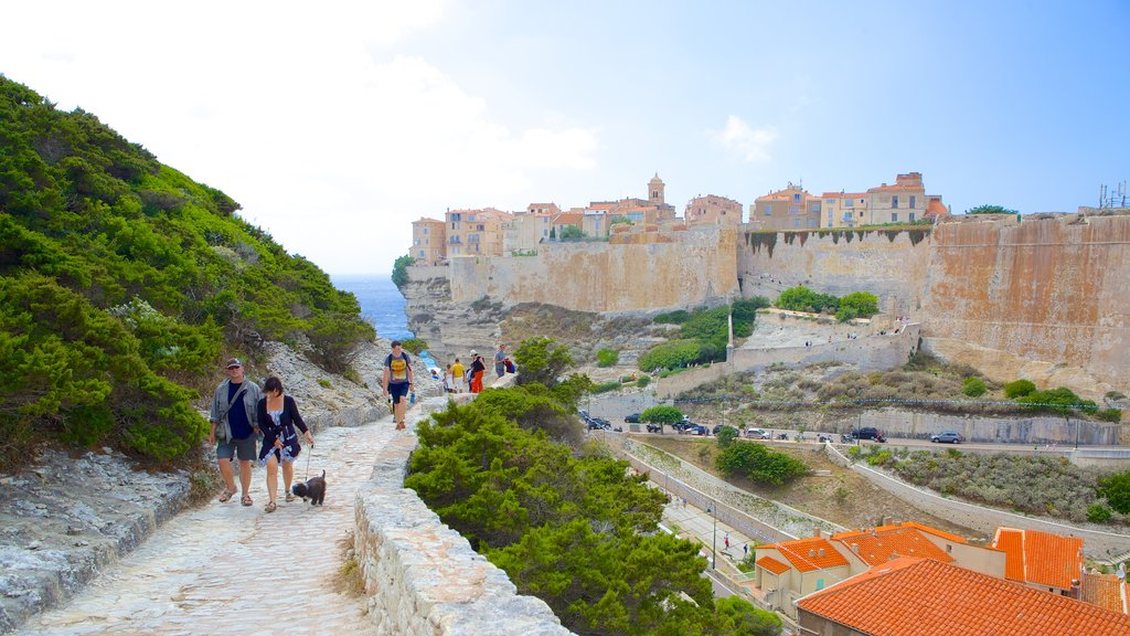 Bonifacio which includes hiking or walking