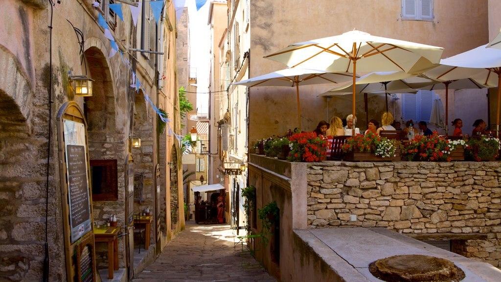 Bonifacio featuring street scenes