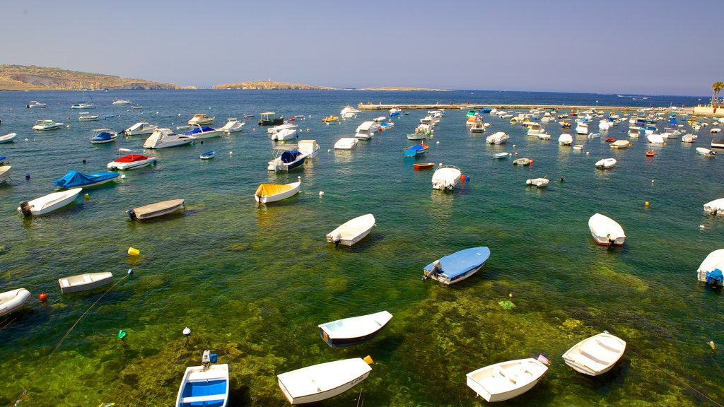 St. Paul\'s Bay which includes a bay or harbor